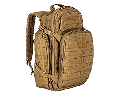 5.11 RUSH72 Tactical Backpack, Large, Style 58602, Flat Dark Earth