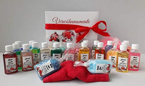 Wellness Christmas Geschenke - Box 26 kleine Auszeiten für die Seele - made in germany