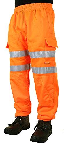 Hi Viz Jogginghose Orange XXXXL