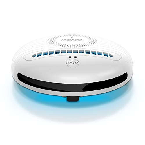 ROCKUBOT Upgraded Mini Smart Bed Cleaning Robot with Bluetooth Music Playing USB Rechargable, Power Bank to Charge Phones for Travel Hotel