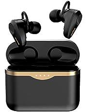 Draadloze oordopjes actieve ruisonderdrukking,Srhythm S5 ANC Bluetooth 5.1 koptelefoon met 4 microfoons,Touch Control,50 uur speeltijd,Voice Assistant,HiFi Stereo voor sport,Reizen