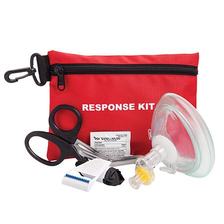 Curaplex AED Red Response Emergency Kit