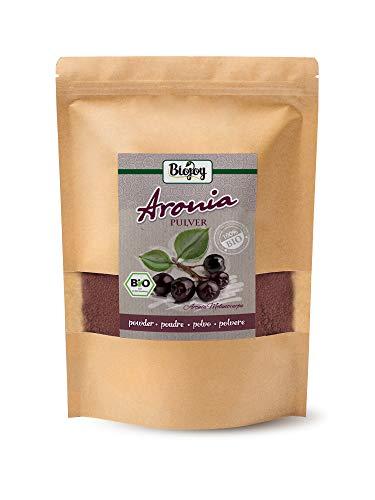 Biojoy BIO-aroniabessenpoeder, 100% aroniabessendroesempoeder Aronia melanocarpa (750 gr)