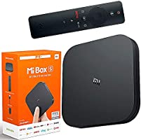 Mi Box S, Smart TV Box, Intelligent 4K Ultra HD Media Player, work with Projector, TVs & Mobile Phones, powered by...