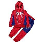 Spiderman Kinder Bekleidungssets Kostüm Jungen Sweatshirt Hose Kapuzenpullover Kinderanzug Babyanzug Junge Anzug Kleidung Outfit Schlafanzug Nachtwäsche Nachthemd T-Shirt Gift Marvel...