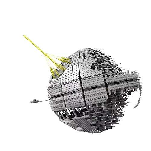 5002 3449pcs Star 05026 Wars Street Death Star Ii Bloques de construcción de ladrillos juguetes educativos compatibles con 10143