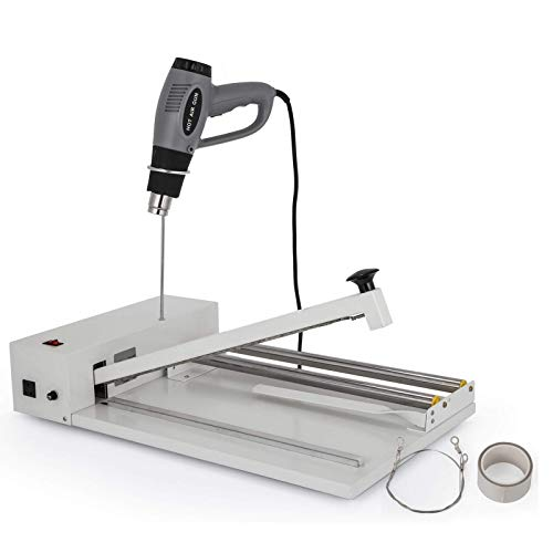 BestEquip 18 Inch I-Bar Shrink Wrap, Shrink Machine with Heat Gun I-bar Sealer, Compatible with PVC POF Film Shrink Wrap Sealer