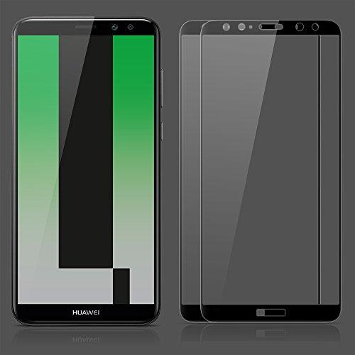 SPARIN [2 Stücke] kompatibel mit Huawei Mate 10 Lite Schutzfolie, Displayschutzfolie Panzerglas mit [9H Härte] [Anti-Kratzen] [Blasenfrei] [2.5D Rand] [HD Klar] - 2