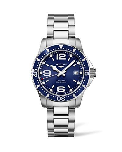 Longines orologio HydroConquest 39mm blu acciaio uomo automatico L3.741.4.96.6