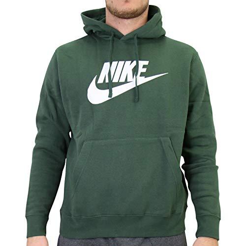 Nike BV2973-337 M NSW Club Hoodie PO BB GX Sweat Mens Galactic Jade/Galactic Jade S