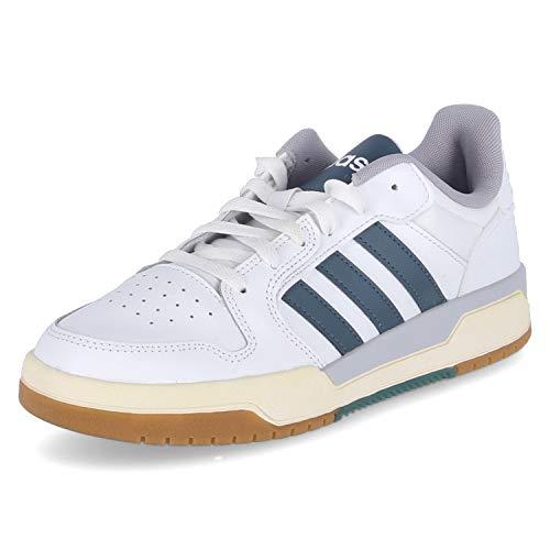 adidas ENTRAP, Zapatillas Hombre, FTWBLA/AZULEG/GRIGLO, 44 2/3 EU