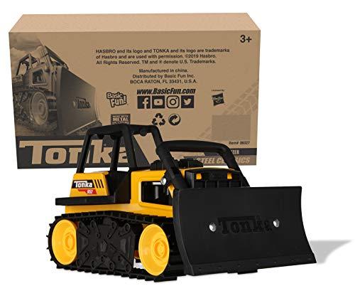 Tonka - Steel Classics Bulldozer, Frustration-Free Packaging (FFP)