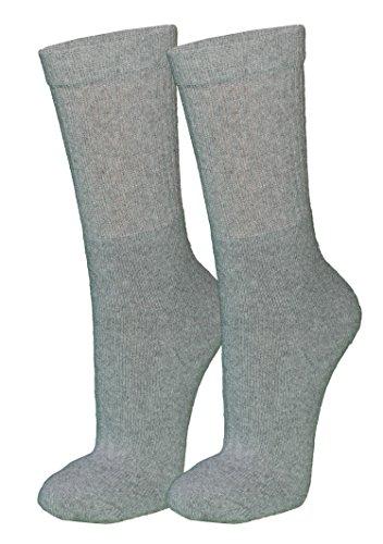 r-dessous 10/20 Paar Damen Herren Socken Tennissocken Sportsocken Arbeitssocken schwarz grau weiss Freizeit Groesse: 43-46