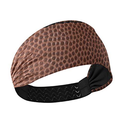 Multifunktionales Stirnband, American Football Hintergrund Damen Elastisches Athletic Haarband Herren Schweißband Leicht Training Stirnbänder