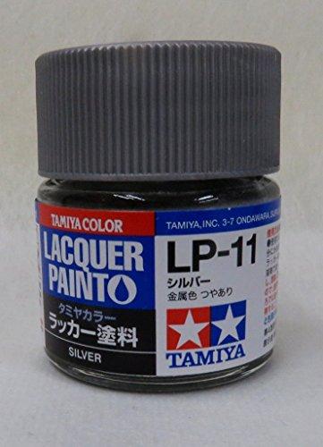 タミヤカラー ラッカー塗料 LACQUER PAINTO LP-11 シルバー(金属色)
