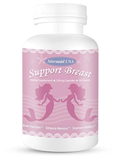 M.U Natural Breast Enhancement Pills Support Breasts Health Lift Firm Healthy Supplement Natural and Green Herb to PRO Formula M.U Mermaid USA