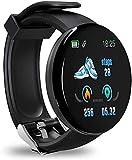 Smartwatch,Reloj Inteligente Impermeable IP68, Pulsera de Actividad Inteligente con Monitor de Sueño Contador de Caloría Pulsómetros Podómetro, para Hombres Mujeres Niños Compatible iPhone Android