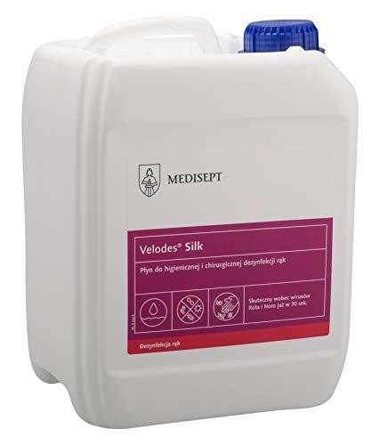 MEDISEPT Velodes Silk, 5L Kanister, Desinfetionsmittel für Hände und Flächen