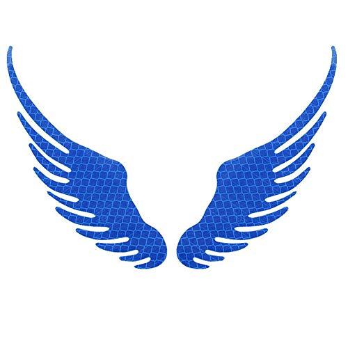 Pegatinas Coche Pegatinas para Coche Tuning Etiqueta engomada del Coche de bebé a Bordo Etiqueta engomada de Parachoques de Coche Blue