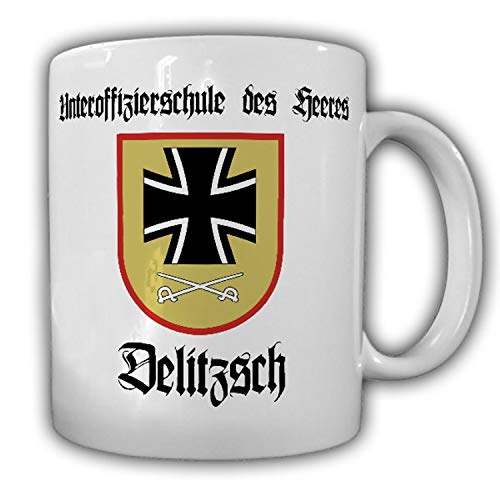 USH Delitzsch Unteroffizierschule des Heeres Lehrgang Feldwebel - Tasse #19495