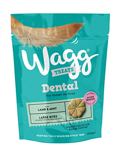 Wagg Lamb and Mint Flavoured Dental Bites