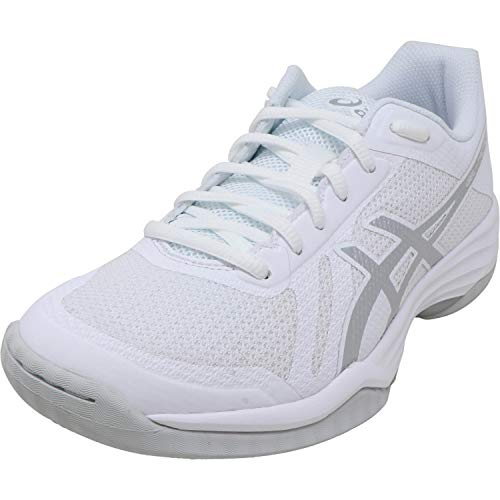 Asics - Damen Gel-Tactic 2 Schuhe, 42 EU, Real White/Silver
