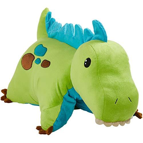 Pillow Pets Dinosaur, Green Dinosaur, 18' Stuffed Animal Plush Toy