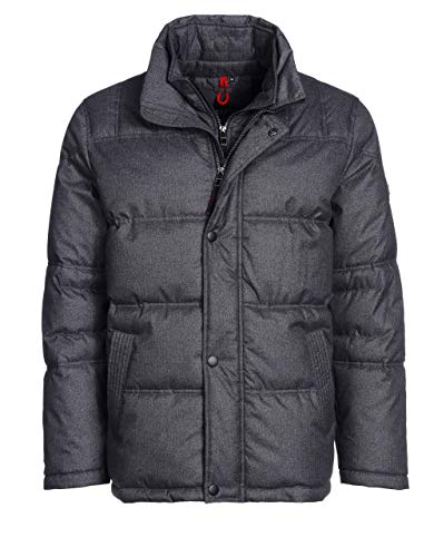 Bexleys man by Adler Mode Herren, Unisex Steppjacke anthrazit Melange 28