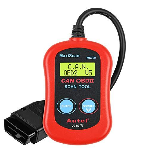 Autel MaxiScan MS300 OBD2 Scanner Professional Enhanced OBDII...