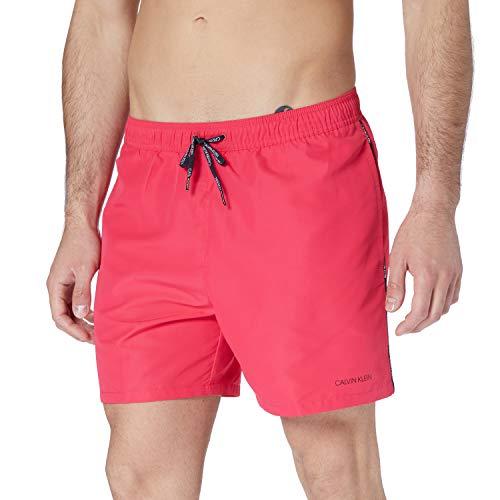 Calvin Klein Medium Drawstring Costume a Pantaloncino, Cuore Rosa, XXL Uomo