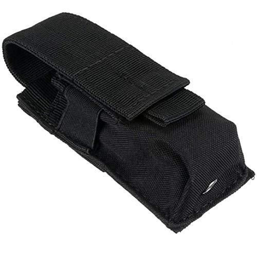 Taktische Tasche, wasserdicht, Nylon, Akku-Tasche, MOLLE-Befestigung, taktische Weste, Taschenlampe, Halter, nützliche Sportartikel