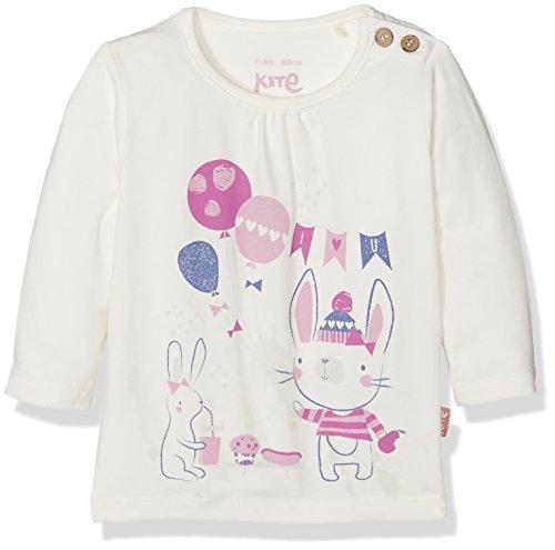 Kite Party Time T-Shirt, Blanc cassé (crème), 12-18 Mois Bébé Fille