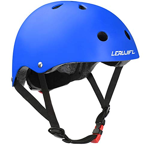 LERUJIFL Kids Helmet Adjustable from Toddler to Youth Size, Ages 5 to 14 Years Old Boys Girls Multi-Sports Safety Cycling Skating Scooter Helmet
