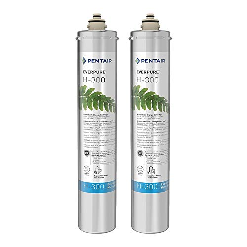 Pentair Everpure H-300 Undersink Water Filter Replacement Cartridge (2 Pack) Nevada