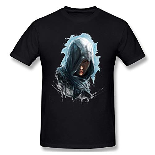 Cool Men T-Shirt Men Birthday Gifts Short Sleeves Funny Tees O Neck 100% Cotton Assassins Creed Clothes Humor T Shirt