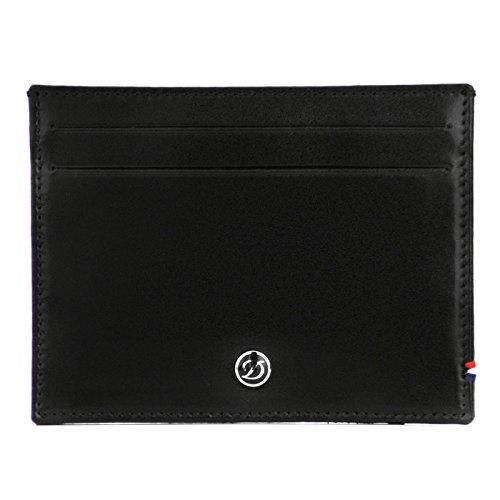 S.T Dupont D-180011 Kartenhalter für 4 Kreditkarten Line D, Leder