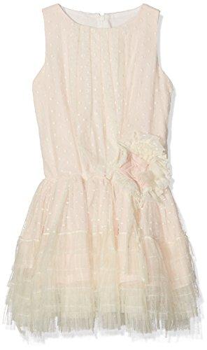 La Ormiga 1720290711 Vestido, Rosa (Salmon), 6 Years (Tamaño del Fabricante:6A) para Niñas