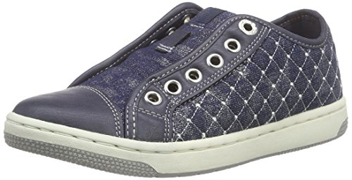 Geox JR CREAMY D Mädchen Sneakers, Blau (Navyc4002), 27 EU