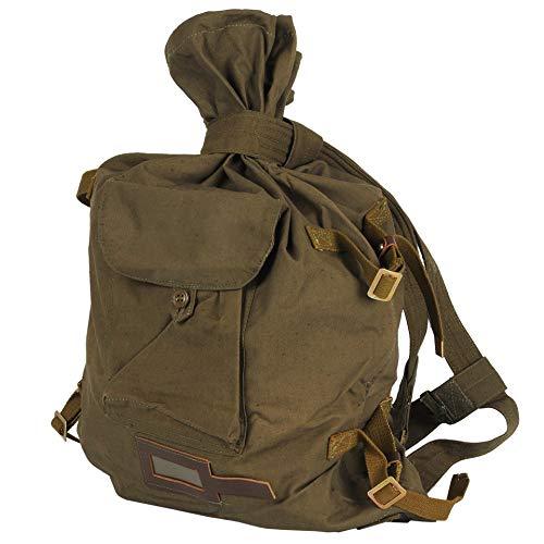 Ganwear Originaler Sowjetischer Militär Rucksack aus Segeltuch für Reisen und Wanderungen