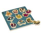 B. Los juguetes Bx1263Z - Ocultar N 'Sea Puzzle Personajes Tabla de madera Marini , color/modelo surtido