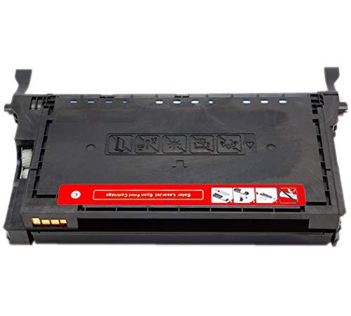 Compatible con Samsung CLT-K406 Cartucho de tóner para Samsung CLP-360/362/363/364/365 / / 366W / 367W / 368CLX-3300/3302 / / 3303FW / 3304 Cartucho de tóner 365W 3303,Rojo