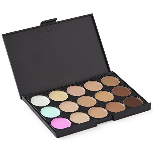 LaRoc 15 Shades Farbe Concealer Contor Verfassungs Schönheit Palette Kit Make Up Set