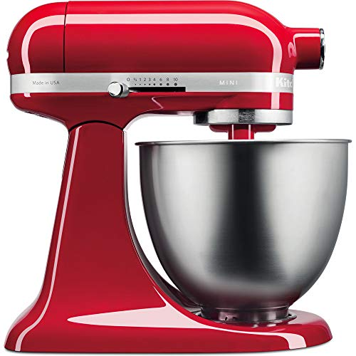 Kitchenaid 5Ksm3311Xeer Robot da Cucina 3.3L Mini 250W Empire Rot