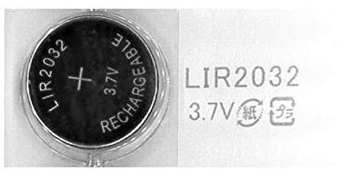充電式 LIR2032 LIR 2032 3.7V ボタン電池