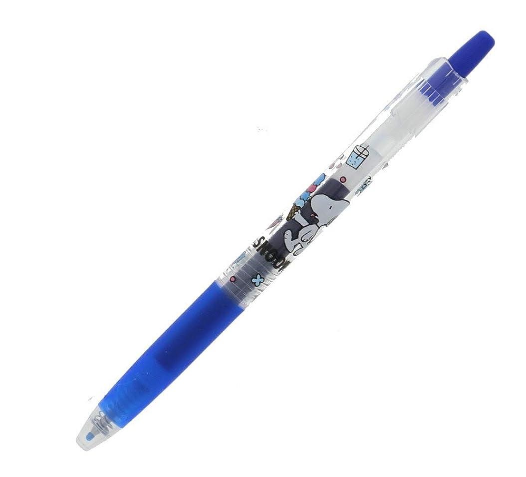 新着約気質サンスター文具 デザインコレクション スヌーピー JUICE 0.5mm ブルー