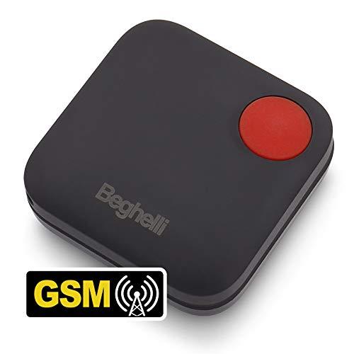 Salvalavita Pocket GSM Beghelli - Dispositivo tascabile per chiamate rapide di soccorso.