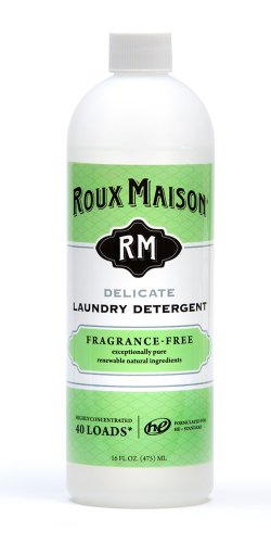 Product Image of the Roux Maison Delicate Laundry Detergent - Odor Eliminator HE Detergent, All Natural Laundry Detergent, Up to 40 Machine Wash Loads or 80+ Hand Washes - Fragrance Free 16oz.