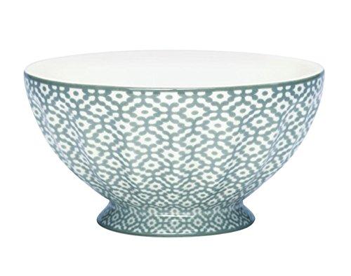 GreenGate Schale French Bowl Jasmin warm grey XL, 13,5 cm Durchmesser