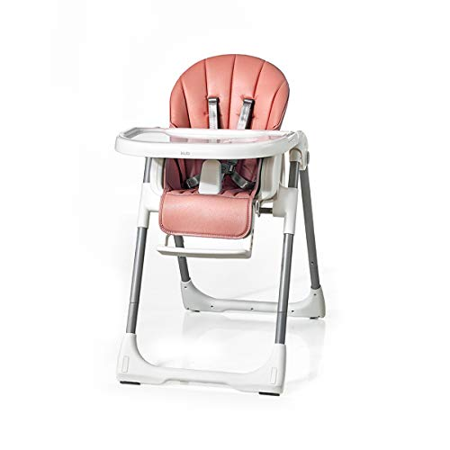 Save %11 Now! Kub Multifunctional Smart Baby Chair | 3-in-1 | Eat, Play & Rest | Baby, Toddler & Child | Adjustable Height, Tray, Backrest & Footrest | Easy to Clean | Foldable & Portable (Pink)