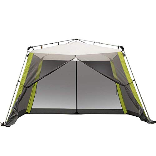 LLSS 33m Pop Up Garden Gazebo with Sides,Five Man Tent Waterproof Canopy Awning Camping Backpacking Dome Shelter Portable